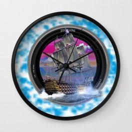 El mundo del mar fotografia Wall Clock