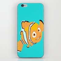 nemo iPhone & iPod Skins featuring Nemo by Roythehuman