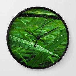 Montana Green Wall Clock
