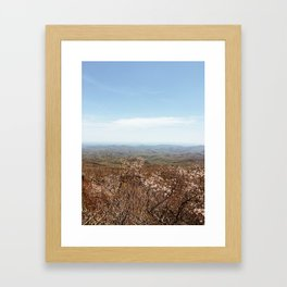 Blue Ridge Framed Art Print