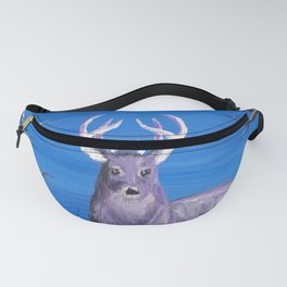 Purple Deer Fanny Pack