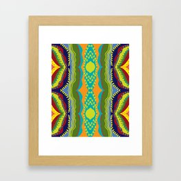 Magic Coral Reef Framed Art Print