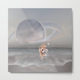 How did I get here, how can I go home. Metal Print