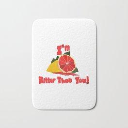 Bitter Grapefruit Bath Mat