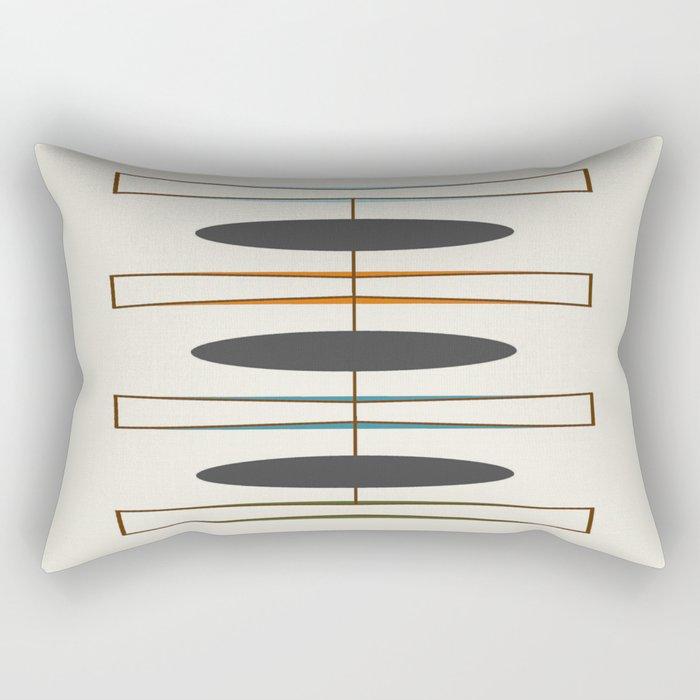 Mid-Century Modern 1.1 Rectangular Pillow