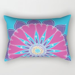 Heart Mandala Rectangular Pillow