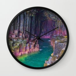 MOTHER NATURE-STUNNING SEA CAVE Wall Clock