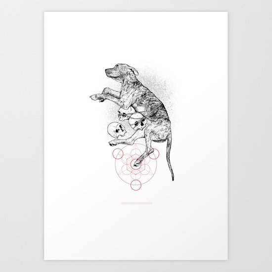 Partial Fractions Art Print