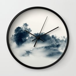 Storm Clouds #2 Wall Clock