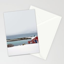 Winterly solitude Stationery Cards
