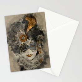 Venetian Mask 2 Stationery Cards