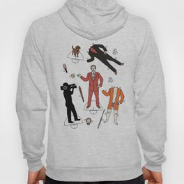 Cut It Out: Ron Burgundy Hoody