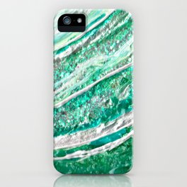 Green Crystal Ⅱ iPhone Case