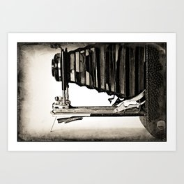 No. 3A Autographic Kodak Art Print