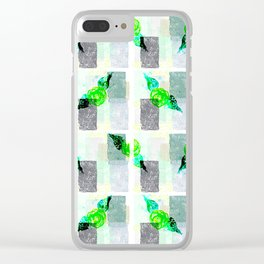 Green Thumbs Clear iPhone Case