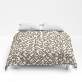 Control Your Game - Vintage Khaki Comforters