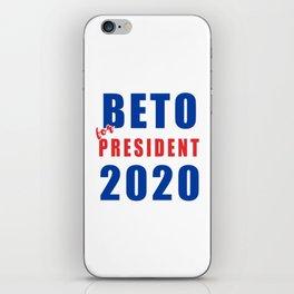 Beto 2020 iPhone Skin