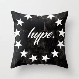 Hype Star Hypebeast Streetwear Art Throw Pillow