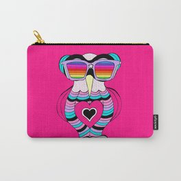 Lily rainbow glasses collection Carry-All Pouch