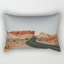 Desert Road Trip IV Rectangular Pillow