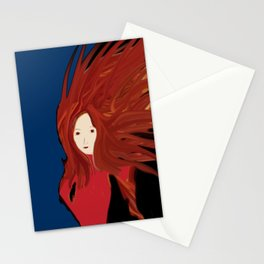 Fire Woman Stationery Cards