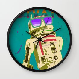 Rad Motivator Wall Clock