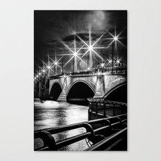 Palm Beach Bridge Canvas Print