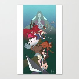 The Seventh Fantasty Canvas Print