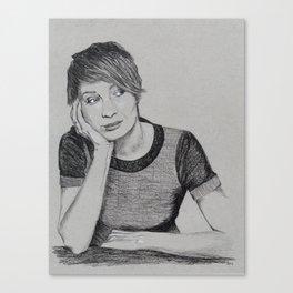 Felicia Day Canvas Print