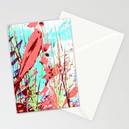 Pink Fish Stationery Cards