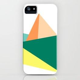 Fune, original colours on white iPhone Case
