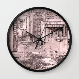 View from Richmond Hill Wall Clock