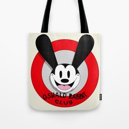 Oswald Rabbit Club Tote Bag