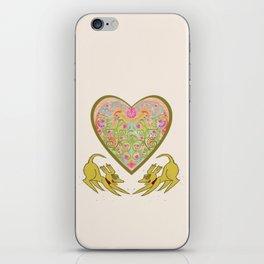 Doggie Heart  iPhone Skin