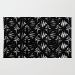 Black and White Pattern II Rug
