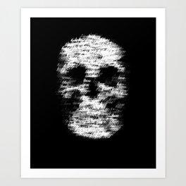 Love Kills 1 Art Print