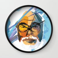 nausicaa Wall Clocks featuring Miyazaki by zero Bounty