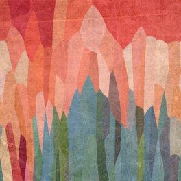 Art Print - Red Hills - mirimo