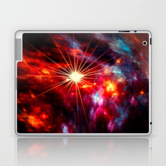 Burning Sky Laptop & iPad Skin