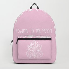 Power to The Pussy (Pink) Backpack