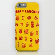 Bar e lanches Slim Case iPhone 6s