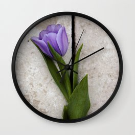 Blue Velvet 3/4 Collection Wall Clock