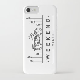 Weekend Vibes iPhone Case