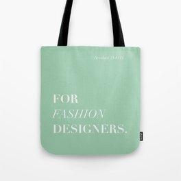 BDFD - Fashion designer Tote Bag