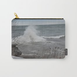 Lake Superior Storm Carry-All Pouch
