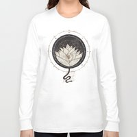 lotus Long Sleeve T-shirts featuring Lotus by Hector Mansilla