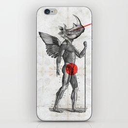 Angel hunter iPhone Skin
