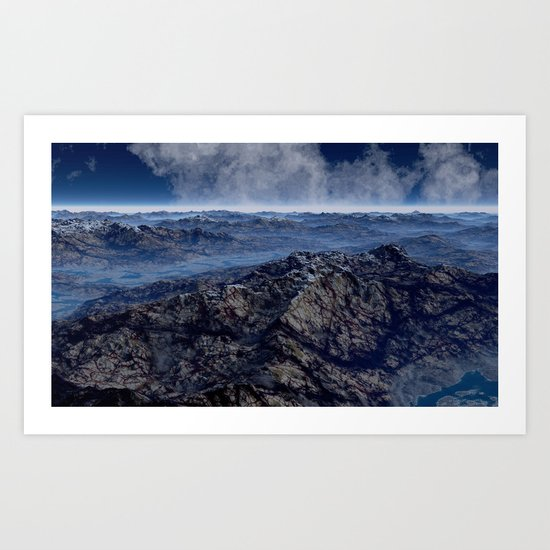 Welcome To Planet X Art Print