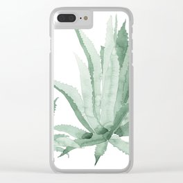 Agave Clear iPhone Case