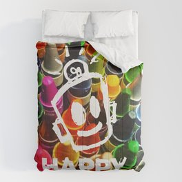 Crayon HAPPY Comforters